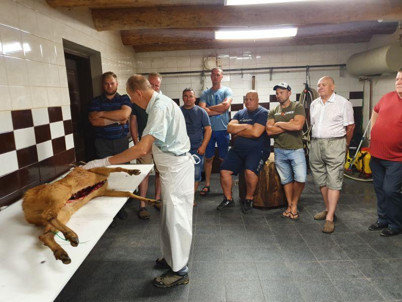 VMVT apmokytu asmenų kursai medžiotojams