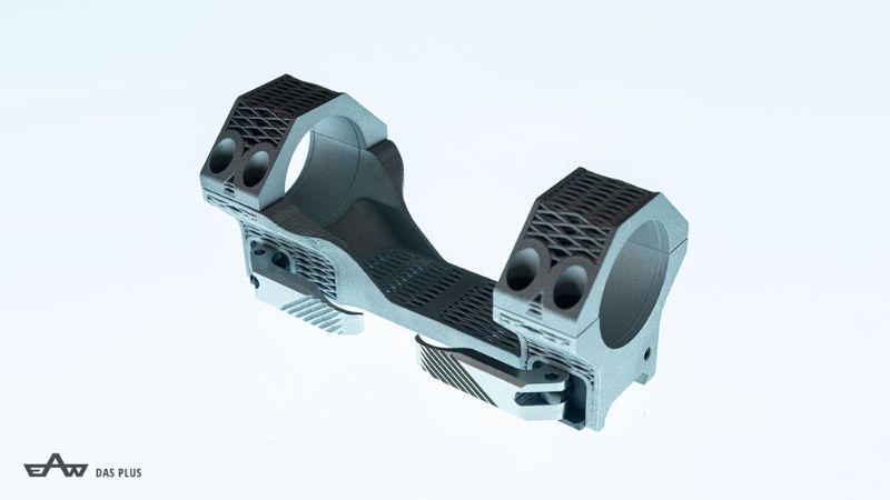 Pirmasis pasaulyje 3D spausdintas optikos laikiklis EAW, pagamintas iš aliuminio